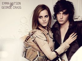 Emma Watson and George Craig by everpresentpast