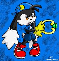Klonoa Colored by DrawingStar12