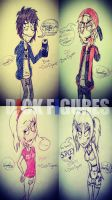 DICK FIGURES -  NEW EDITION by vaness96