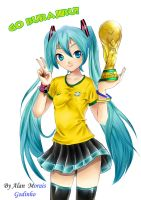 Hatsune Miku Brazil!! by hirkey