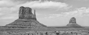 Marking the Entrance to Monument Valley by Bawwomick