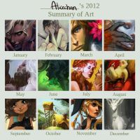 2012 Art Summary by Alicechan
