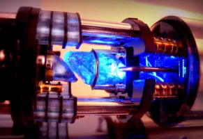 Blue Lightsaber Crystal by PhelanDavion