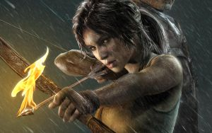 Tomb Raider - OXM Official Wallpaper 2560x1600 by TombRaider-Survivor