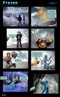 Frozen Page 1 by hyperjet