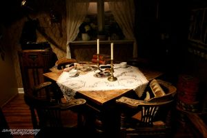 Viking Dining by aseaofflames