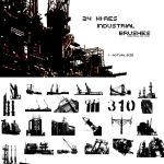 24 Hi-Res Industrial Brushes by onyx