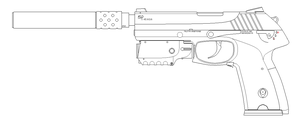 ASP .45 Standard Special Operations by SixthCircle
