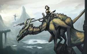 Dragon Rider by VirtualNinjas