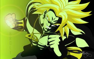 Super Saiyan Broly Wallpaper by Spartan1028