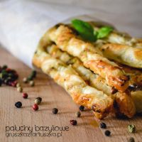french pastry with basil and nuts by Pokakulka