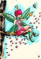 Lilymon - The Fairy of Odaiba by SonicPossible00