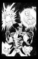 Wolverine vs Pokemon by renonevada