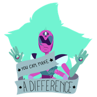 you can make a difference * su by ghost8oy