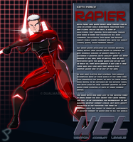 Keith Pierce:Rapier Bio by Dualmask