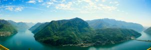 Monte San Salvatore by digitalbrain