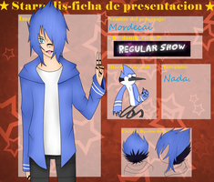 Mordecai - SP Ficha by RaiDeN-SM
