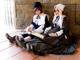 Dolls::::::Rozen Maiden::: by Witchiko