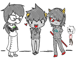 they all prefer karkat over me by MikeyWayluver013