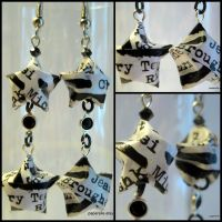 Black and White Lucky Stars by roserevolution