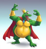 Newcomer King K. Rool by Versiris