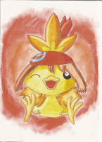 Torchic by BeryUmbreon