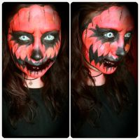 Halloween Pumpkin by Makeupbyashh