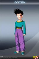 Dragon Ball GT - Goten by DBCProject
