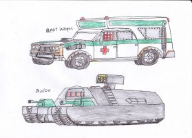 Twisted Metal concepts 9 by Demonizer68