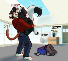 Now Arriving (art by AmonOmega) by Erkhyan