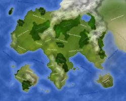 Map of Thaloea by Studpuffin