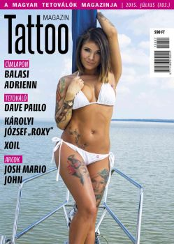 Hungarian Tattoo Magazine 183 - July 2015 by hortipeter