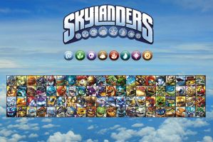 Skylanders Elite 2 by Ele-Bros