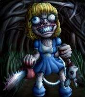 Alice in Chainsawland II by Sappel