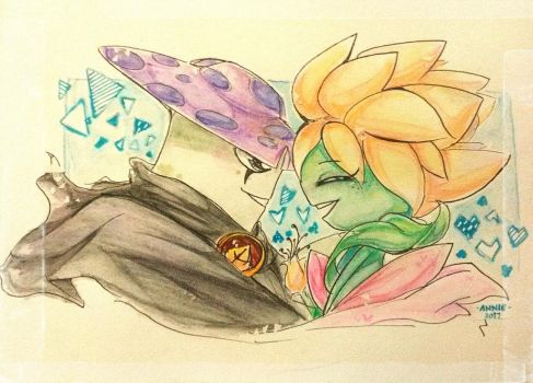 Rq- Nightcap and Lotus Flower by neko-kumicho-chan