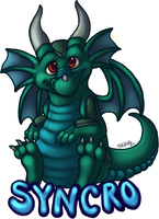 Syncro Badge Commission 1 of 2 by bawky