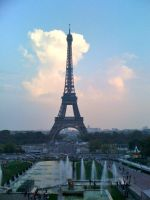 Eiffel Tower II by Little-Angel33