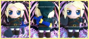 The Legend of Zelda Link plush by VioletLunchell