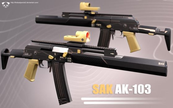 Modified AK-103 by TheBadPanda2