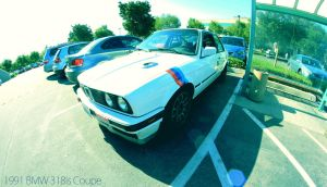 1991 BMW 318is Coupe by aMorle