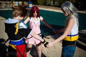 Kingdom Hearts: Trinity by VandorWolf