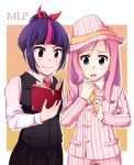 cmsn.02 - Twilight and Fluttershy by RidleyWright