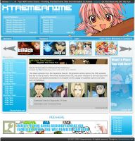 Anime Webdesign V4 by DamageXtreme
