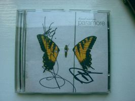 Paramore AUTOGRAPH by Peterkoo