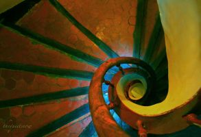 Stairway to Beauty by TheQuietSnow