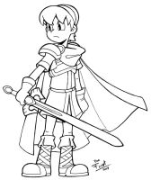 Marth by FlintofMother3
