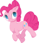 Pinkie Vector by MidwestBrony