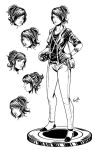 Character Design Lucid comic book by EdgarSandoval