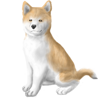 young Hachiko by FrightRat