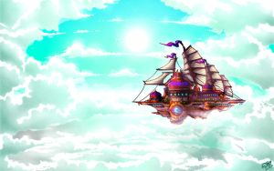 Traveling in the Sky by Astral-Requin